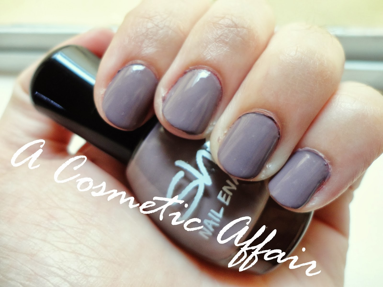 On my Nails: She Dirty Lilac Nail Polish | A Cosmetic Affair