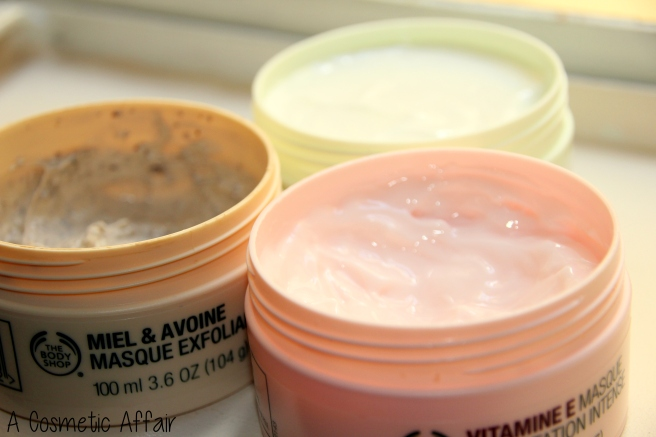 body shop, mask, treatment, blemishes, hydrating