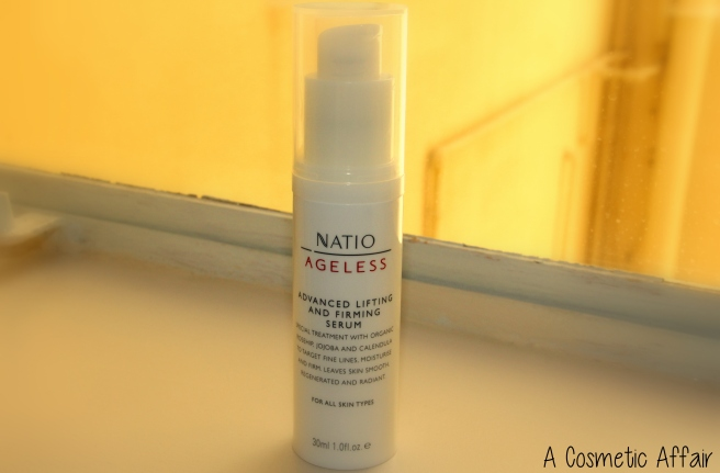 Natio, ageless, serum, treatment, firming