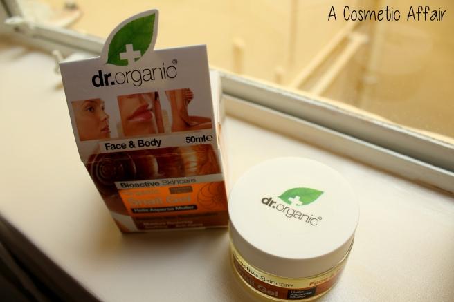 dr organic, snail gel, malta, organic skincare best snail gel