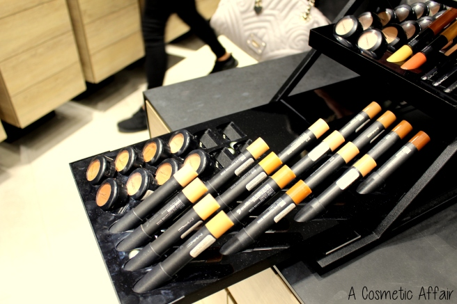 MAC Malta Liptensity store Sliema swatches lipstick concealer